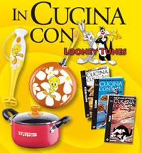 De agostini presenta in cucina con i looney tunes - In cucina con pippo de agostini ...